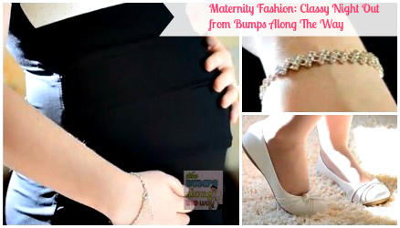 Maternity Fashion For A Night Out {Video}